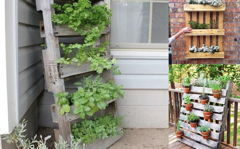 Creare Un Orto Urbano Con I Pallet Workshop Bio City